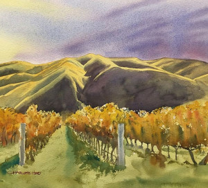 Autumn in the Awatere by Charlotte Hird